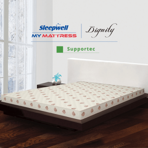 Sleepwell dignity supportec mattress in delhi | sleepwell dignity price in delhi