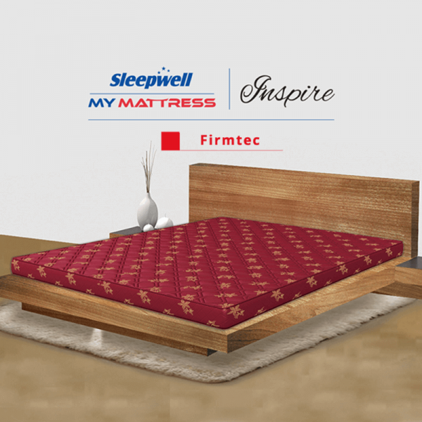 Sleepwell inspire firmtec mattress in delhi | sleepwell inspire firmtec price in delhi