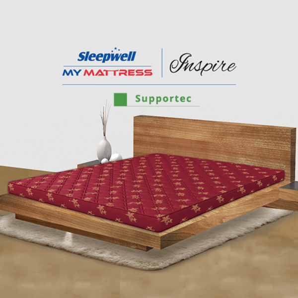 Sleepwell inspire supportec in delhi | Sleepwell inspire supportech price