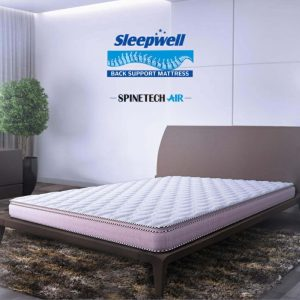 sleepwell spintech air mattress in delhi | sleepwell spinetech price in south delhi & lajpat nagar